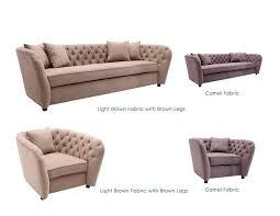 sofa design fabric settee chocolate brown microfiber sofa black