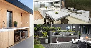 outside kitchen design ideas 7 outdoor kitchen design ideas for awesome backyard entertaining