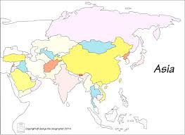 asia map no labels outline base maps in asia map no labels evenakliyat biz and best