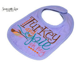 turkey bib etsy