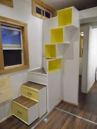 Molecule Tiny House by A 144 Square Feet Tiny House On Wheels Built By Upper Valley Tiny