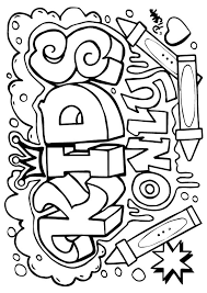 graffiti color pages graffiti coloring pages printable coloringstar