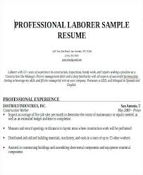 resume construction experience construction worker resume skills gse bookbinder co