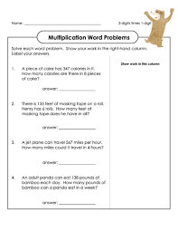 free multiplication word problems multiplication word problems word problems free printable