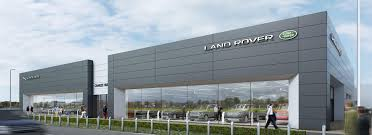 jaguar land rover dealership new jaguar land rover showroom turkington holdings ltd