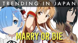 subaru and emilia married japanese fans pick who they u0027d marry who they rather die than