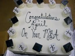 Xavier University MBA Graduation Cake