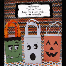 dream dress play halloween trick or treat bags for 18 inch