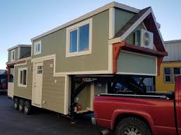 Tiny House On Gooseneck Trailer by The Reagan By Maximus Extreme Living Solutions