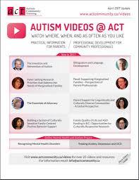 education and training act autism community training