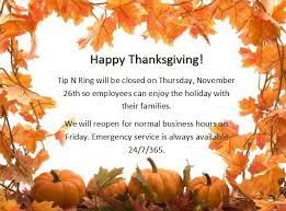 happy thanksgiving tipnring