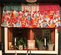 shabby chic valances more curtains made from pioneer woman napkins my home ideas