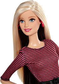amazon barbie fashionista barbie doll leopard print skirt