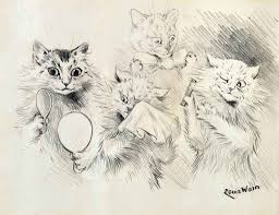 louis william wain 1860 1939 the cat u0027s ball and vanity