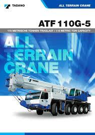 atf 110g 5 tadano faun pdf catalogue technical documentation