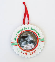 all i want baby ultrasound ornament