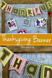 thankful fall banner