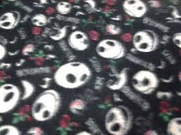 nightmare before fleece fabric 1 1 2 yards 60