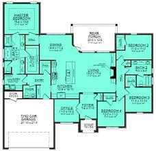 triplex house plans triplex plan with garage 20 ft wide t 400