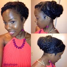 natural hair updo hairstyles for weddings elegant twisted high bun