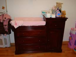 Changing Table Dresser Cherry Cherry Wood Changing Table Wood Desjar Interior Cherry Wood