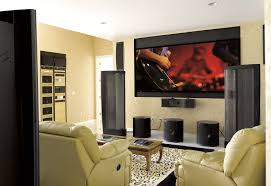 home theater family room design wanting the ultimate in audio we combined four martinlogan clx