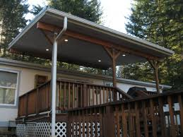 Metal Awnings For Patios Corrugated Metal Roof Patio Cover