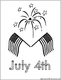 free black and white 4th of july clipart 44