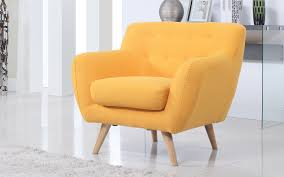 Orange Chair by Sofa Mania Affordable Designer Modern Chairs Online Sofamania