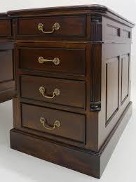 Antiker Schreibtisch Schreibtisch Partnerdesk Büromöbel Antik Stil Mit Grüner