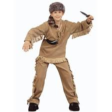 Halloween Costumes Girls 8 10 Child Daniel Boone Costume Costumeish U2013 Cheap Halloween
