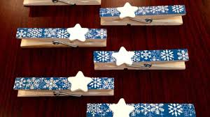 how to make easy christmas clothespins diy crafts tutorial