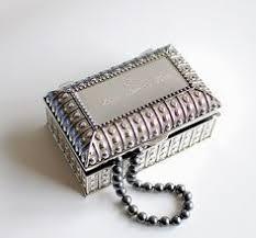 Girls Personalized Jewelry Box Personalized Jewelry Box Silver Jewelry Box Engraved Keepsake