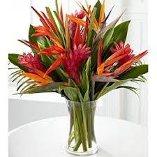 tropical flower arrangements if i can t plumeria i like this tropical flowers for a punch