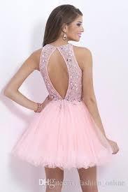 light pink graduation dresses light pink homecoming dresses halter vestido de festa curto short