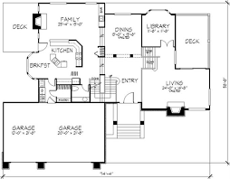 multi level floor plans interesting decoration multi level house plans country 1 2 story