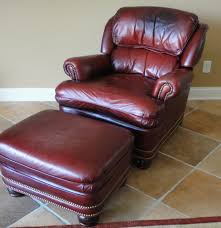 Hancock And Moore Leather Chair Prices Hancock U0026 Moore Austin Oxblood Leather Chair Ebth