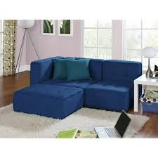 Furniture Your Zone Bunk Bed by Your Zone Loft Collection Comfy Lounger Stadium Blue Kids