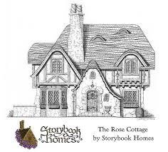 Storybook Cottage House Plans 248 Best Cottage Images On Pinterest Storybook Cottage