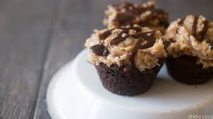 cake mix hack easy german chocolate cupcakes taste totally homemade