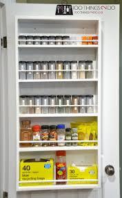 Kitchen Cabinet Door Spice Rack by Best 25 Door Mounted Spice Rack Ideas On Pinterest Spice Rack
