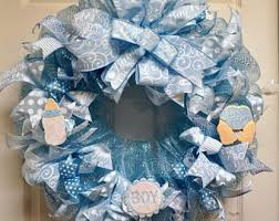 baby shower wreath baby shower wreath etsy