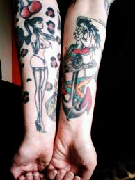 vintage tattoo rockabelle bombshell