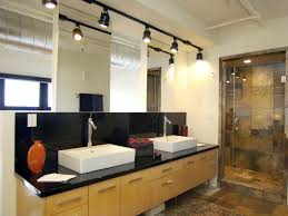 kitchen with track lighting track lighting in bathroom tomic arms com