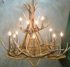 How To Build Antler Chandelier Lamp U0026 Lighting Cast Antler Chandelier Hampton Bay Antler