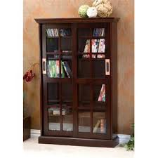 southern enterprises china cabinet southern enterprise sliding door media cabinet espresso
