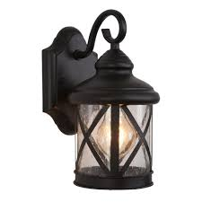 yosemite home decor 1 light exterior lantern in black finish small