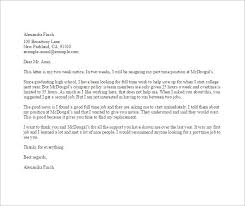 15 job resignation letter templates u2013 free sample example