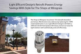 Light Efficient Design Led Transforming Light Led For Hid Retrofit Lamps Commercial