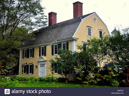 Gambrel Roofs by Deerfield Massachusetts The Historic 18th Century Scaife House